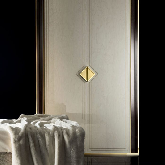 Adora Interiors Diamante Collection two doors Wardrobe