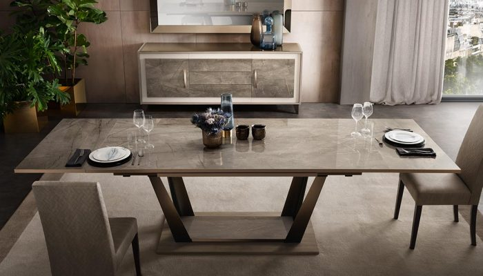 adora interiors table and chairs ambra collection dining room